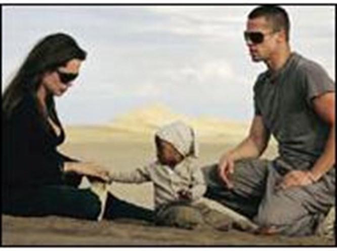 Bebek uğurlu Namibya mutlu
